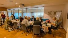 SENDES VIDERE: Kommuneplanutvalget vedtok å sende klagen fra tiltakshaverne for driftsbygning på Bjelland til Statsforvalteren i Agder for endelig avgjørelse. Foto: Esben Holm Eskelund