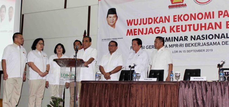 Fary Francis Ajak Kader GEKIRA Kembalikan Citra Gerindra sebagai Partai Nasionalis