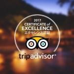 TripAdvisor®のエクセレンス認証を受賞しました~ というわけで…