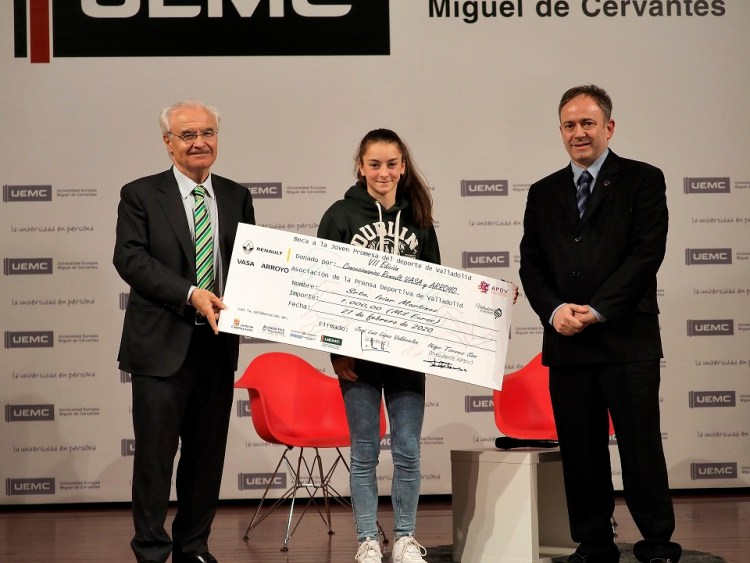 Iziar martínez premio joven promesa deporte valladolid 2019