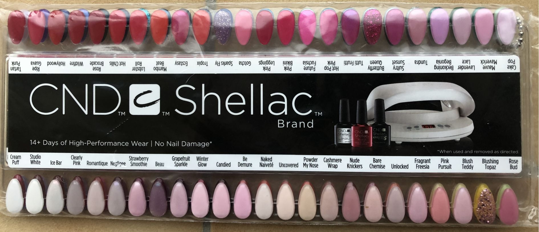 CND Shellac Full Color Palette WwwGel Nailscom