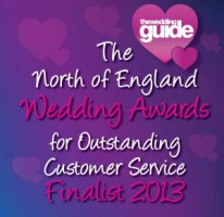 Finalist of the North Of England Wedding Guide Awards
