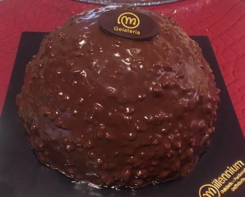 Rocher al cioccolato - Gelateria Millennium, non solo gelati