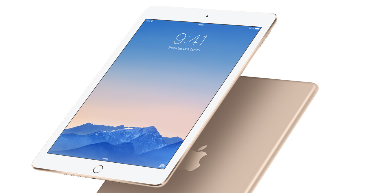 Neden iPad Air 2 Apple