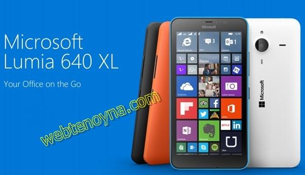 Neden Microsoft Nokia Lumia 640 XL