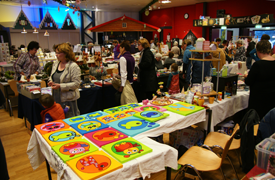 Hobbybeurs in Wijkcentrum De Dreef