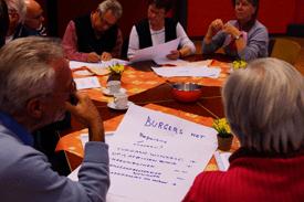 Samen Werkt bijeenkomst in Wijkcentrum De Dreef