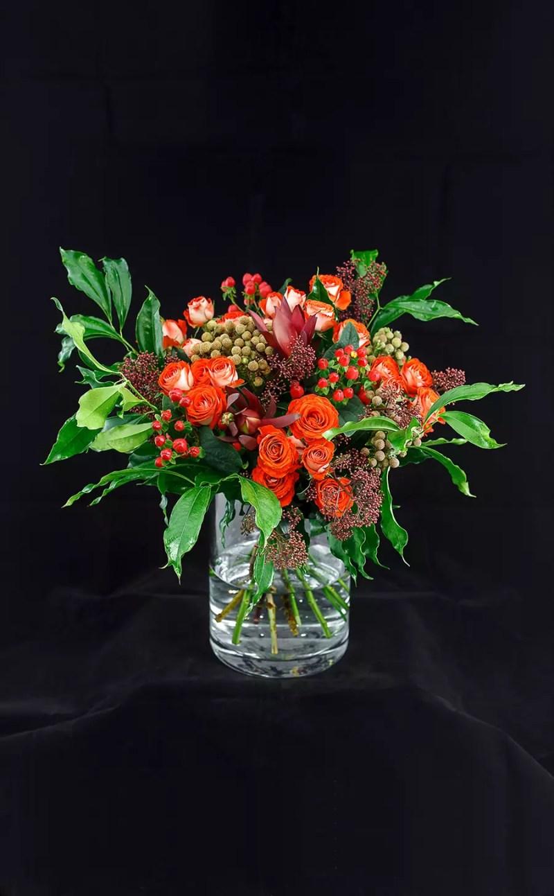 Gėlių puokštė Ryškioji