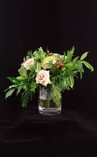 Gėlių puokštė Pastelė