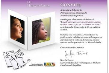 Prêmio combate a violência contra a mulher