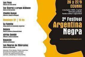 2º Festival Argentina Negra