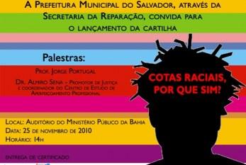 SALVADOR: Agenda afirmativa