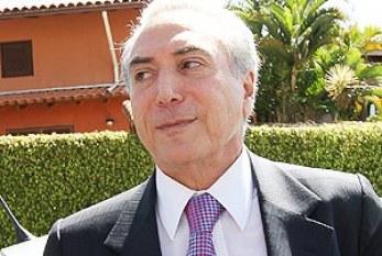 Michel Temer reivindica paternidade da Lei da Ficha Limpa