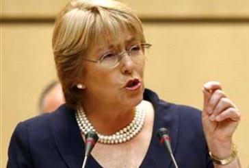 Mensaje de Michelle Bachelet – Fin de la violencia contra las mujeres