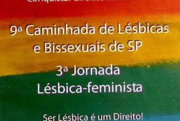 Caminhada lésbica pede fim da discriminação em SP
