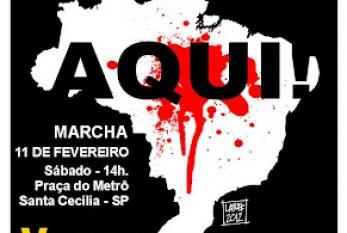 Marcha Contra o RACISMO, a Higienização Sócio Racial e a Criminalização da Pobreza