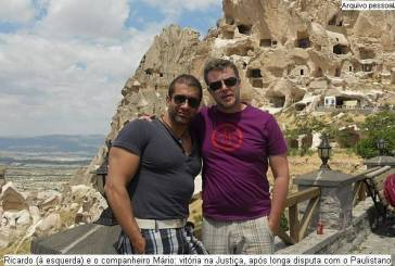 No Tribunal de Justiça, casal gay vence disputa com clube