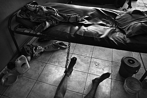 Jan Dago – The patients at The Sierra Leone Psychiatric Hospital