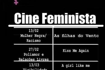 UJS: Sessões do Cine Feminista serão realizadas na Vila das Artes