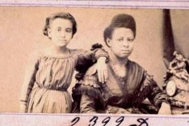 Crianças negras retratadas no período pós-abolição dos escravos