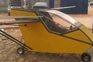 Africanos constroem helicópteros caseiros com sucata…e voam