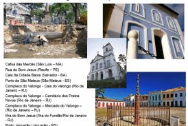 Inventário dos Lugares de Memória do Tráfico Atlântico de Escravos e da História dos Africanos Escravizados no Brasil
