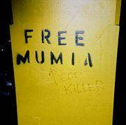"Graffiti: ""Libertem Mumia"" / ""Assassino de policial"""