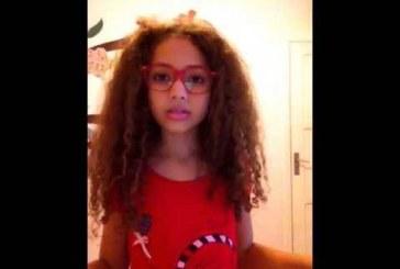 Menina de 10 anos que se recusa a alisar o cabelo vira hit na internet