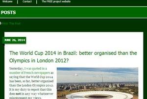 Especialista diz que Copa no Brasil é mais bem organizada que Jogos de Londres