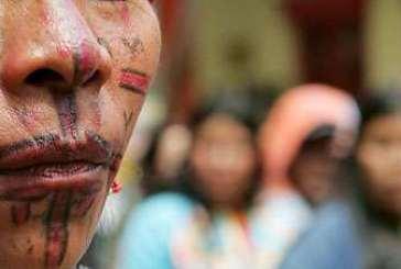 Oito milhões de mulheres indígenas sofrem violência