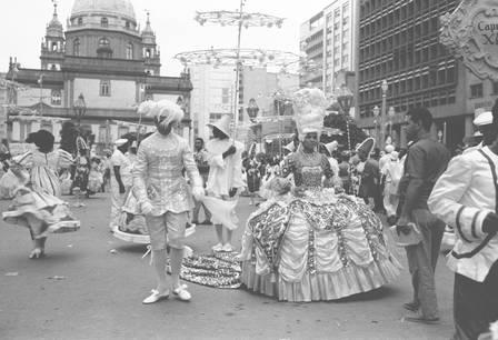 Em 1963, Mercedes Baptista foi responsável pela ala coreografada do Salgueiro Foto: Arquivo