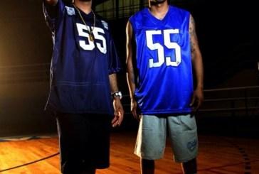 Dexter e Gregory participam da chamada da NBA Global Games 2014 no ESPN