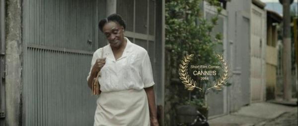 Léa Garcia no curta que o Brasil rejeitou, mas Cannes abraçou - Foto: Laura Carvalho