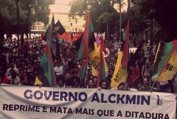 2 mil gritam pelo fim da violência policial em SP