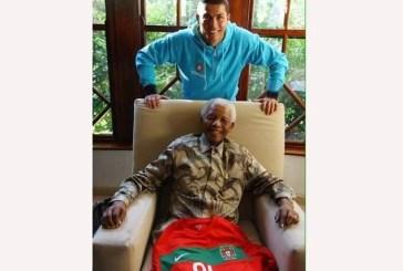 Cristiano Ronaldo recorda Mandela e apela à luta contra o racismo