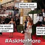 Por que as atrizes estão sacudindo o tapete vermelho do Oscar