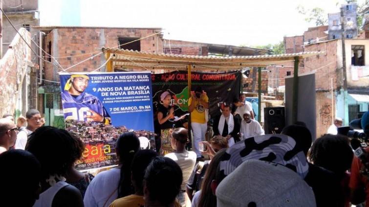 Início da atividade na Vila Moisés, bairro do Cabula – Salvador