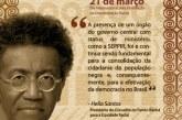 Mensagem de Hélio Santos para o 21 de Março