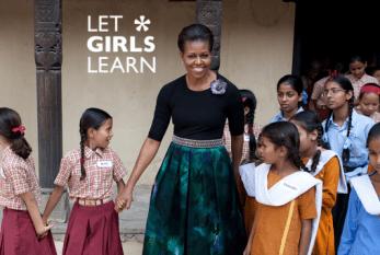 Barack e Michelle Obama anunciam programa de incentivo à educação para meninas de todo o mundo