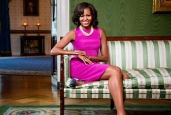 Michelle Obama, uma rocha na Casa Branca