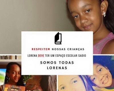 Campaña de apoyo aLorena en el sitio Negra y Académica. (Foto:Facebook Preta e Acadêmica)