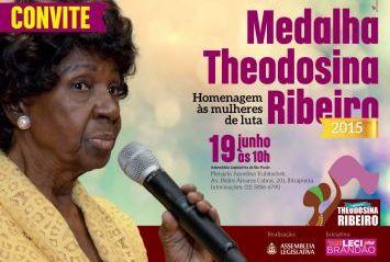 Medalha Theodosina Ribeiro 2015