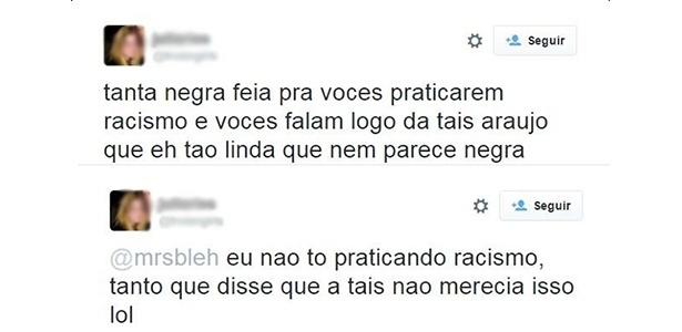 Preconceito transparece em post de 'apoio' a Taís Araújo