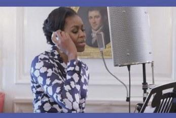 Michelle Obama faz Rap incentivando jovens a irem para faculdade