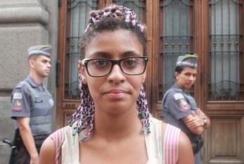 """""""A polícia me apalpou, disse que ia cortar minhas tranças e me chamou de macaca"""", Andreza Delgado, educadora em luta"""