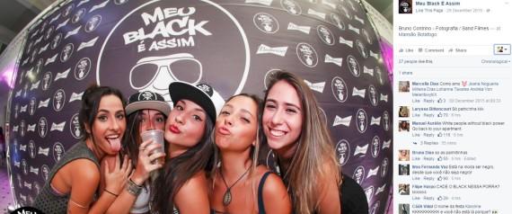 Página da festa 'Meu Black é Assim' recebe milhares de críticas por ironicamente não ter negros | Reprodução/Facebook