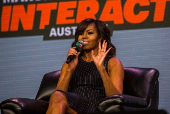 Em grande evento no Texas, Michelle Obama descarta disputar Presidência