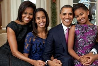 Casal Obama quer que as filhas ganhem salário mínimo