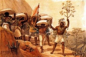 Fotografia de negros escravos no Brasil