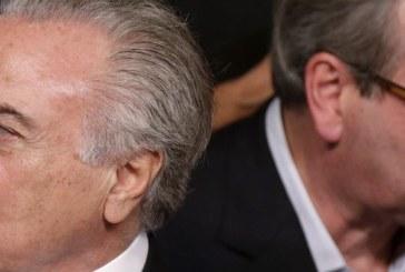Cunha ameaça Temer: se cair, leva 150 deputados